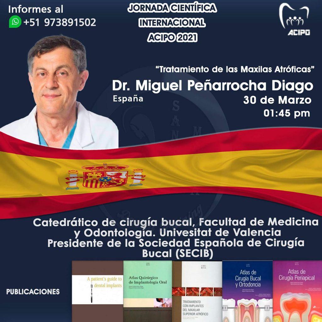 dr miguel penarrocha jornada científica ACIPO 2021